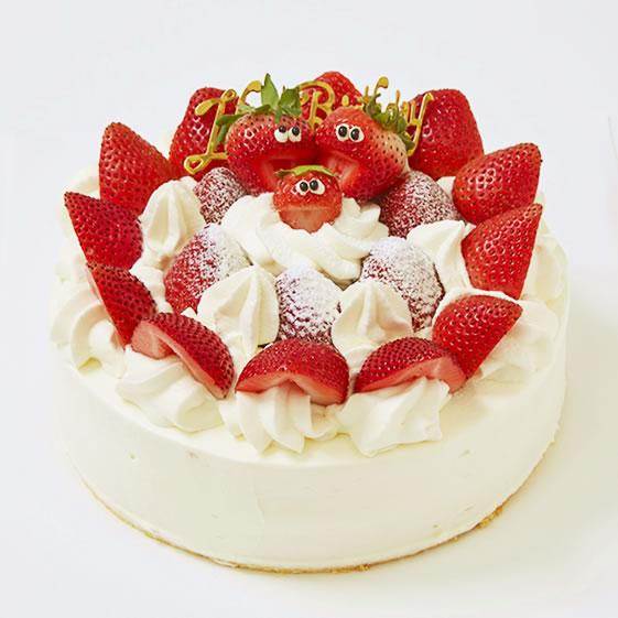 【店舗受取予約】イチゴいっぱい苺のバースデー